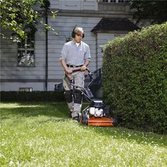 Push Mowers All our lawn mowers are equipped with a one-piece cutting deck, straight from the stamping line. This means no welded parts – a feature that will bring you torsion stiffnes…