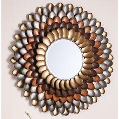 Red Barrel Studio Decorative Round Wall Mirror