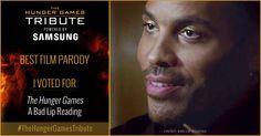 I voted for <em>The Hunger Games</em> - A Bad Lip Reading as Tribute for The Hunger Games Tribute Awards #TheHungerGamesTribute  tribute.thehungergames.movie