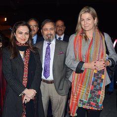 08-02-2016 Queen Maxima arrived in Pakistan.