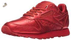 Reebok Women's Cl Lthr Face Fashion Sneaker, Striking/Wonder, 7.5 M US - Reebok sneakers for women (*Amazon Partner-Link)