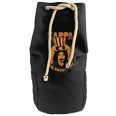 Karset Frank Zappa For President Vertical Bucket Cylindrical Shaped Canvas Beam Port Drawstring Sports Basketball Shoulders Backpack Bags -- You can get additional details at the image link. #GymBags
