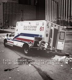 Chicago Fire...I know it's just a show, but it's crazy to think it could happen...
