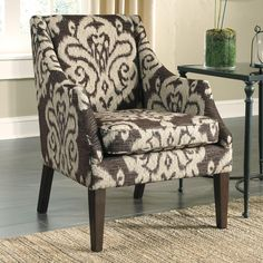 2d91f5a5c3 Adelle Accent Chair by Benchcraft Comfortable Accent Chairs