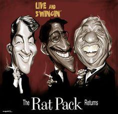 The Rat Pack  (by Sebastian Cast -Dibujante)