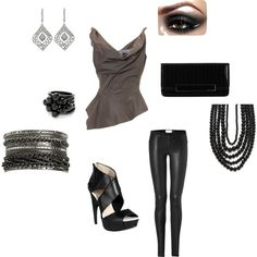 """""""Girl's Nite Out"""" by jadyad56 on Polyvore"""