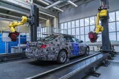 BMW's robots create 3D models of its cars with insane accuracy     - Roadshow  Roadshow  News  Car Industry  BMWs robots create 3D models of its cars with insane accuracy  Enlarge Image  This sure as hell beats measuring the whole car by hand.                                              BMW  Its incredibly complicated to build a car. With facilities around the world most automakers need to ensure everyone is on the same page. BMW is taking a novel approach to this issue using optical…