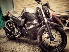 My on-progress modified Yamaha Byson