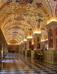 Biblioteca del Vaticano (Ciudad del Vaticano).