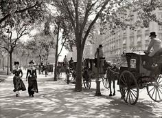 New York City, 1900 (bet this is 5th Avenue)