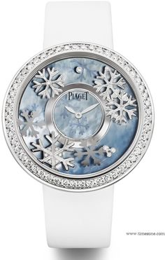 """Superb Nature-Inspired """"Four Seasons"""" Piaget Watches 4"""