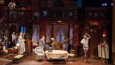 This Broadway revival of the Pulitzer Prize-winning play tells the story of a quirky family living in Depression-era New York. Rockwell Group, Theatre Plays, Design Firms, Set Design, Essie, Lighting Design, Stage, Drama, Costumes