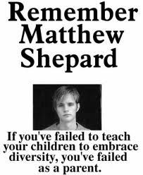 Matthew Shepards death brought attention to hate crimes.