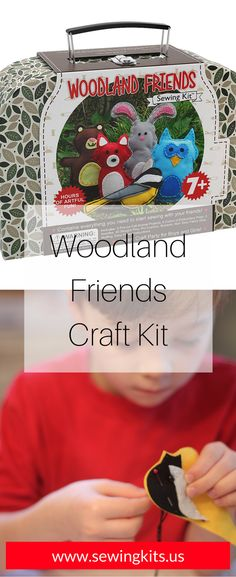 1000 images about diy kids sewing crafts kits for boys for Crafts for girls age 9