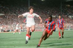 Clayton Blackmore in the 1990 FA Cup final