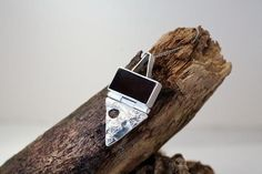Items similar to Sterling silver and resin reticulated silver pendant on Etsy Resin, Sterling Silver, Studio, Trending Outfits, Pendant, Unique Jewelry, Handmade Gifts, Creative, Etsy