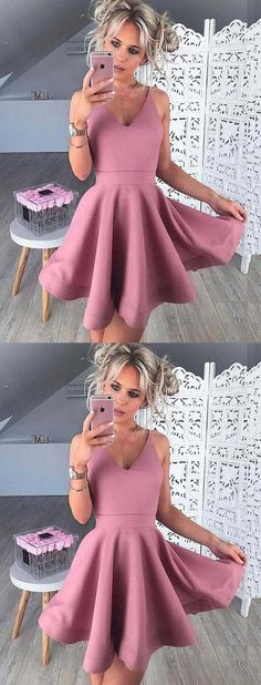 cute dress,dirty pink homecoming dress,short homecoming dress cheap,mini pink dress,homecoming,fashion dresses for homecoming