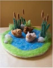 dry needle felting projects - Google Search