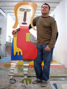 Milo Lockett es mi favorito pintor en el mundo Creative Communications, Naive Art, Visionary Art, Outsider Art, Worlds Of Fun, Famous Artists, Art School, Art World, Mixed Media Art