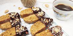 Cantuccini - biscotti (talianské sušienky) Biscotti, French Toast, Muffin, Breakfast, Food, Morning Coffee, Essen, Muffins, Meals
