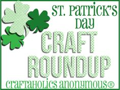 Lots of St. Patrick's Day Crafts!