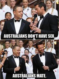 I love Hugh Jackman.