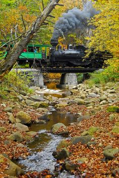 Steam Engine, Cass, West Virginia photo via sandy
