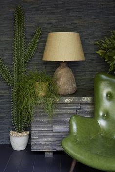 plants, wood, stone & pottery.  abigail ahern