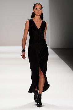 A model walks the runway at the Richard Chai Love & Richard Chai Men's Fall 2013 fashion show during Mercedes-Benz Fashion Week Fall 2013