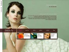 Moonfruit Template - Beauty #website #design