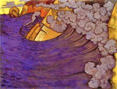 Violet Blade by Georges Lacombe