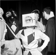 Beaux Art Ball John Vachon 1949