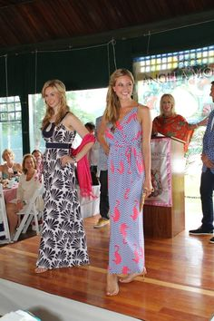 Seaside Style at Angela Moore Fashion Show - International Tennis Hall of Fame.
