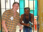 Marlo trusted Christ in a Honduras prison with our medical mission group