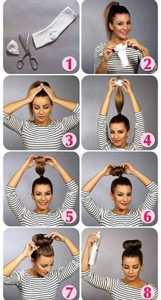 Hair Styles Tutorials for Ladies....