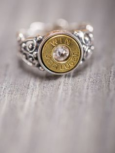 Silver Bullet Ring - Bourbon & Boots Love this!! Would be perfect for my 20 gauge!! LOL!!