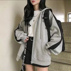 Source by FlowerGiiirl outfits edgy # Outfits coreanos Kpop Fashion Outfits, Mode Outfits, Retro Outfits, Cute Casual Outfits, Casual Clothes, Korean Casual Outfits, Korean Outfit Street Styles, Korean Skirt Outfits, Korean Fashion Kpop Inspired Outfits