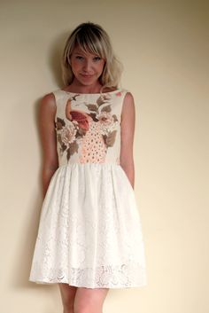 I am SUCH a fan of Fabled and True. Beauuttiifull dresses handmade in Australia from vintage materials!