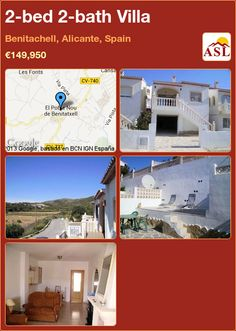 2-bed 2-bath Villa in Benitachell, Alicante, Spain ►€149,950 #PropertyForSaleInSpain