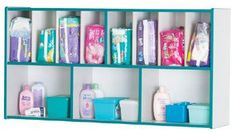5141JC00 Rainbow Accents¨ Diaper Organizer