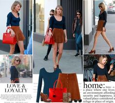 """""""Taylor Swift.   Street Style."""" by sarahutcherson on Polyvore"""