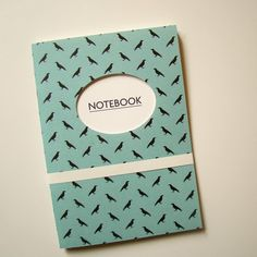 Notebook with Hole in Cover
