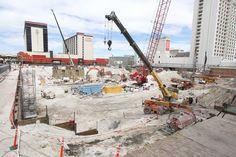 Circa resort construction update. Las Vegas Hotels, Times Square, Construction, Travel, Hotels In Las Vegas, Building, Viajes, Destinations, Traveling