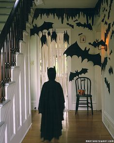 "Bats decoration for Halloween or a ""Batman"" themed birthday party"