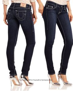 So you love Skinny Jeans? Well make not mistake that the True Religion Women's Stella Skinny Jean is just that. Retails for well over $250.00 as Premium Denim Jean but here you will save up to 30% of more when you use the link below  Imagine what your butt will look like in these jeans with their white stitching.