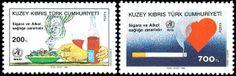 Francobolli - Lotta contro il fumo Anti-smoking stamps RTCN 1990