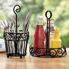 Flatware Caddy From Fresh Finds On Catalog Spree, My Personal Digital Mall.