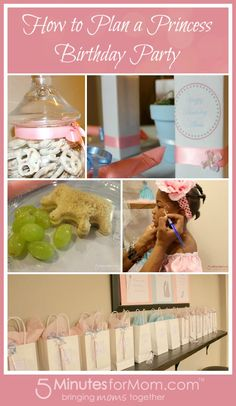 How to Plan a Princess Birthday Party #PartyPlanning
