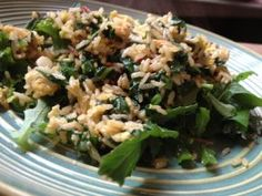Spicy Fried Rice with Eggs and Greens