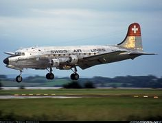 Douglas DC-4-1009 - Swissair - Swiss Air Lines (South African Airways Historic Flight) | Aviation Photo #0494747 | Airliners.net
